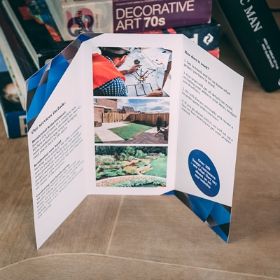 Picture of Urban Template - Folded Leaflet - Roll Fold