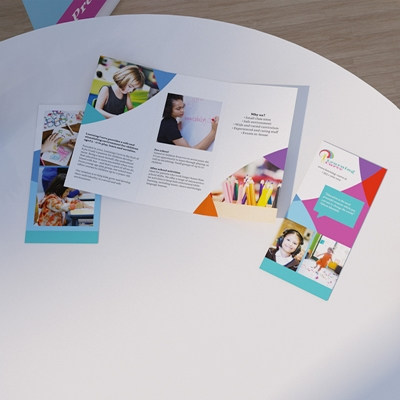 Picture of Cheery Template - Folded Leaflet - Roll Fold