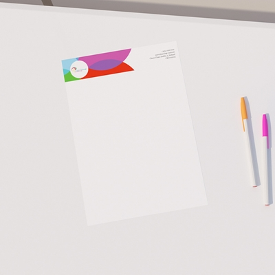 Picture of Cheery Template - Letterheads
