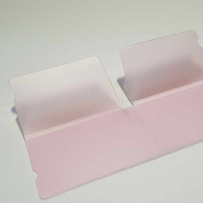 Picture of Covid Facemask Holder Case Pink