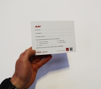 Picture of FREE - Self-Isolating Help Cards