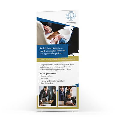 Picture of Pull up banner printing