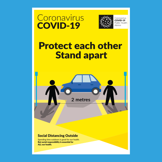 Picture of COVID Info Poster Stand Apart
