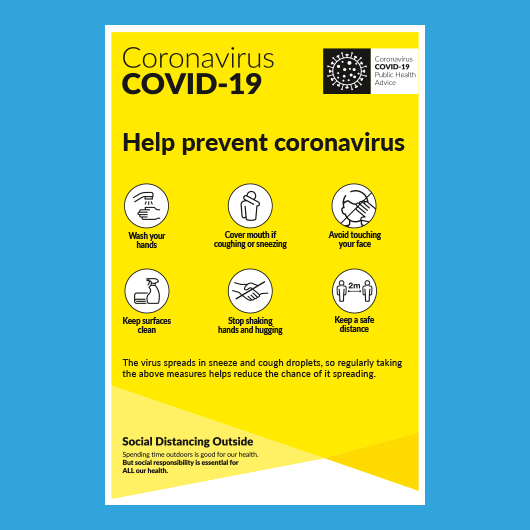 Picture of COVID Info Poster Prevent