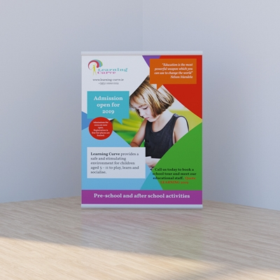 Picture of Cheery Template - Pull Up Banner
