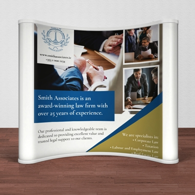 Picture of Sharp Template - Pop Up Banner