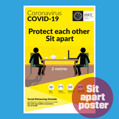 Picture of COVID Information A0 Posters