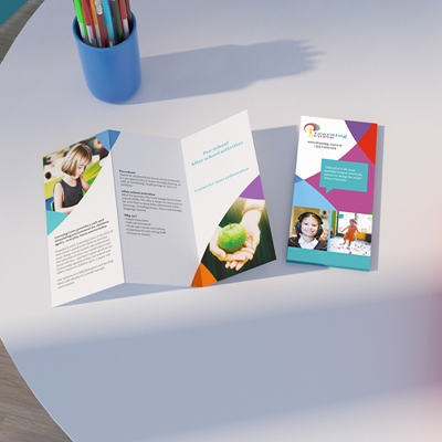 Picture of Cheery Template - Folded Leaflet - Z Fold